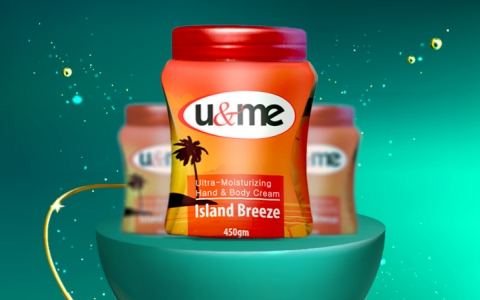 u&me Hand & Body Creme Island Breeze